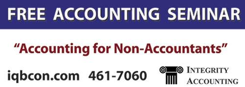 Free Accounting Seminar