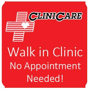 Clinicare Walk in Clinic